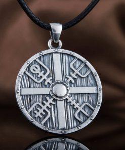 Collier Viking Lagertha en Argent