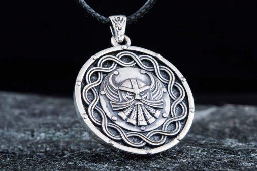 Collier Viking Nordique et Mythologique en Argent