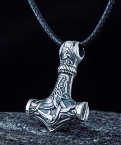 Collier viking thor mammen