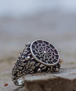 Bague Viking Black Sun