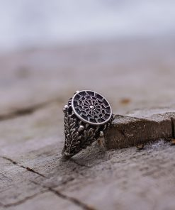 Bague Viking Black Sun