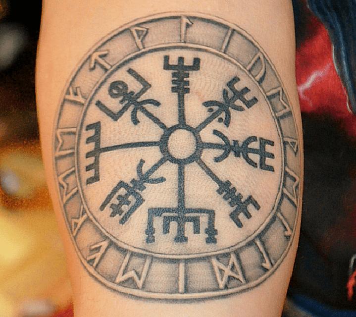 tatouage vegvisir