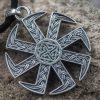 Collier Viking Kolovrat Valkyrie en Argent