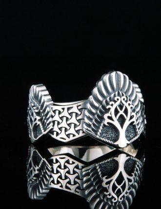bague viking arbre de vie